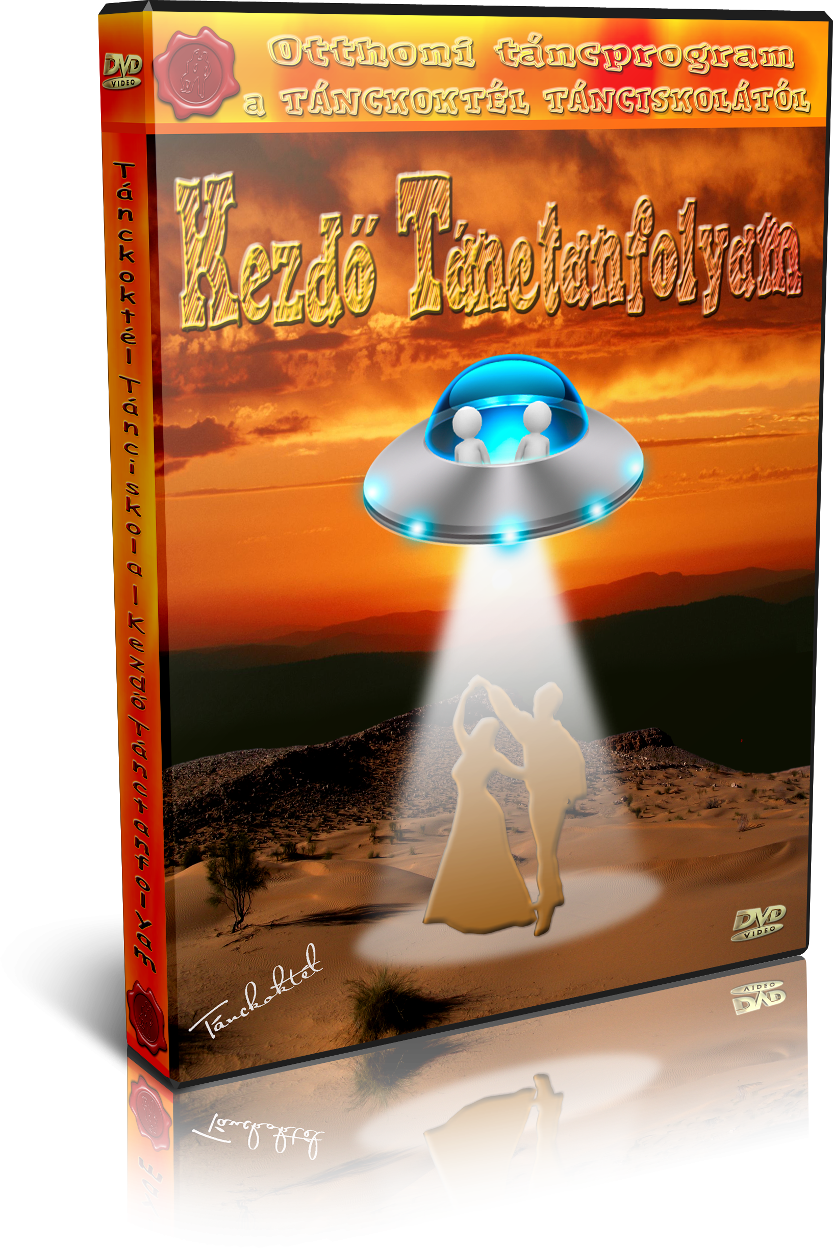 Kezdő és Haladó Táncoktató DVD