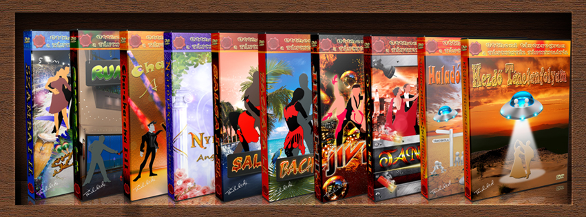TÁNCOKTATÓ DVD választék