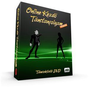 ONLINE KEZDŐ TÁNCTANFOLYAM PRÉMIUM - LETÖLTHETŐ TÁNCOKTATÓ DVD