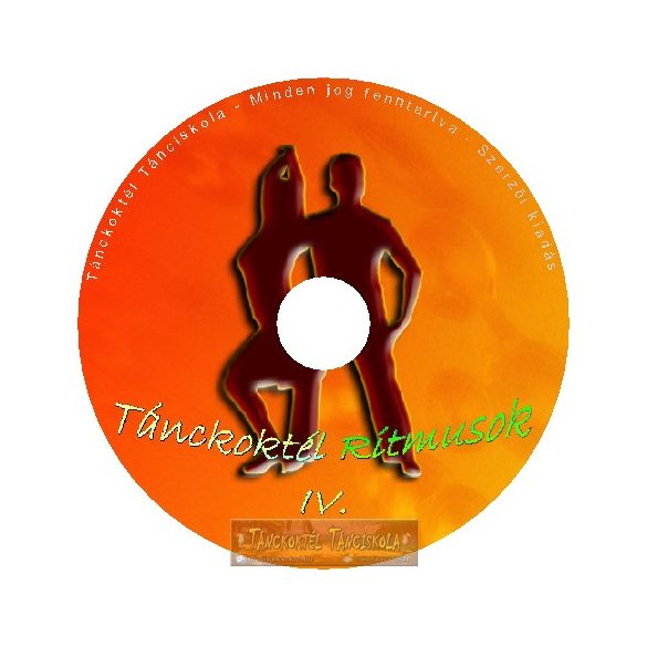 Tánckoktél Ritmusok IV. - Tánczene CD lemez