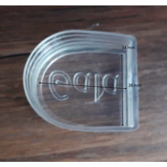HPR50 sarokvédő - sarokvédő tánccipőre