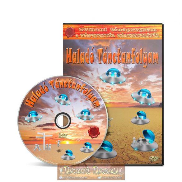 Haladó Tánctanfolyam - TÁNCOKTATÓ DVD