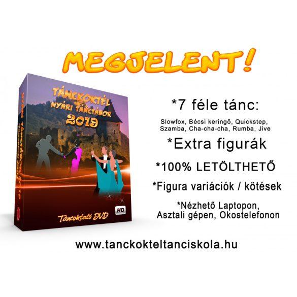 NYÁRI TÁNCTÁBOR 2019 - LETÖLTHETŐ TÁNCOKTATÓ DVD CSOMAG