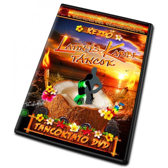 Latin és Karibi Táncok - KEZDŐ - LETÖLTHETŐ TÁNCOKTATÓ DVD