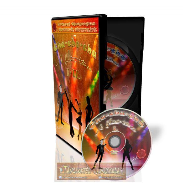 Cha-cha-cha I-II. - TÁNCOKTATÓ DVD - Kétlemezes DVD