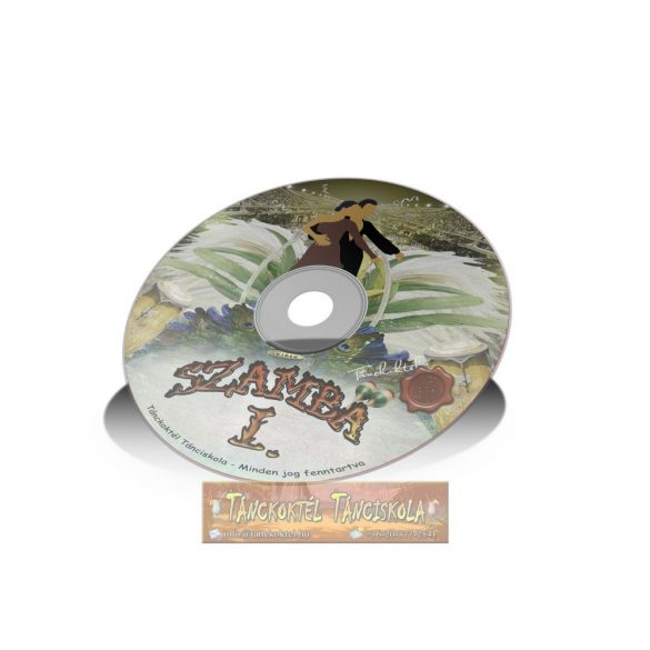 Szamba I. - TÁNCOKTATÓ DVD