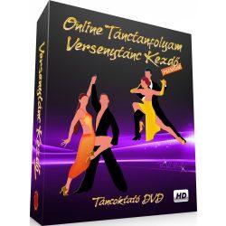 ONLINE VERSENYTÁNC KEZDŐ PRÉMIUM - LETÖLTHETŐ TÁNCOKTATÓ DVD