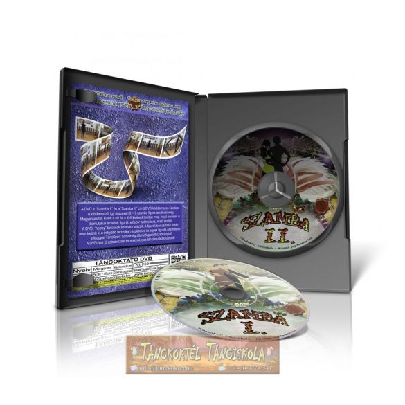 Szamba I-II. - TÁNCOKTATÓ DVD - Kétlemezes DVD