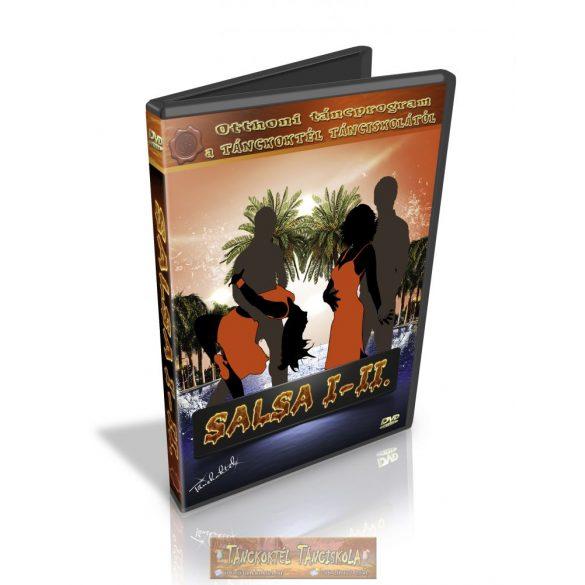 Vonalas Salsa I-II. - TÁNCOKTATÓ DVD - Kétlemezes DVD