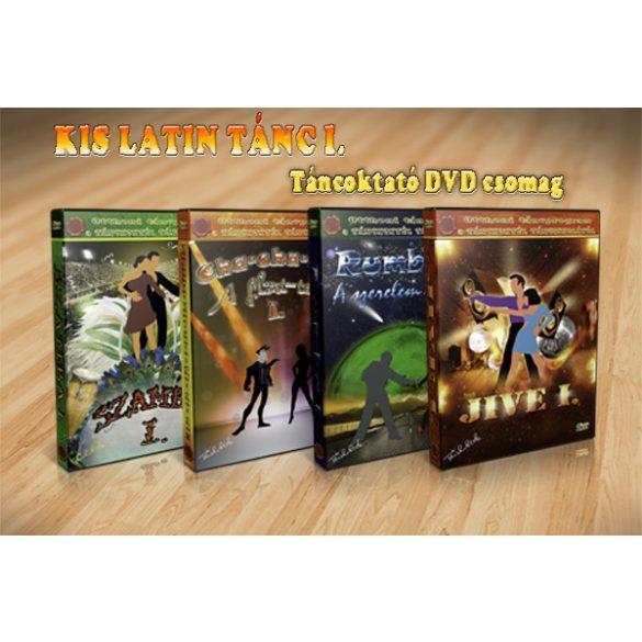 KIS LATIN TÁNC I. - LETÖLTHETŐ TÁNCOKTATÓ DVD CSOMAG