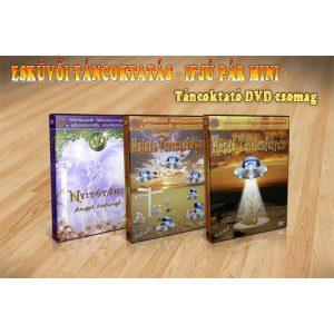 ESKÜVŐI TÁNCOKTATÁS - IFJÚ PÁR MINI - Táncoktató DVD csomag