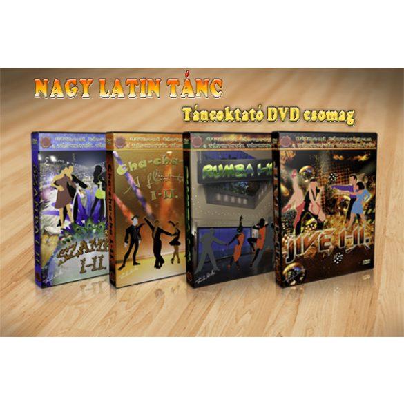 NAGY LATIN TÁNC - LETÖLTHETŐ TÁNCOKTATÓ DVD CSOMAG