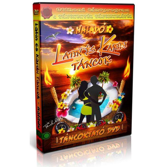 Latin és Karibi Táncok - HALADÓ - Táncoktató DVD