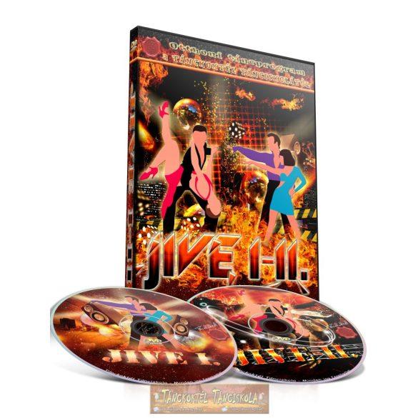 Jive I-II. - TÁNCOKTATÓ DVD - Kétlemezes DVD