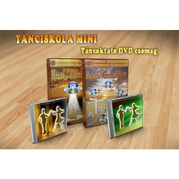 TÁNCISKOLA MINI - Táncoktató DVD Csomag