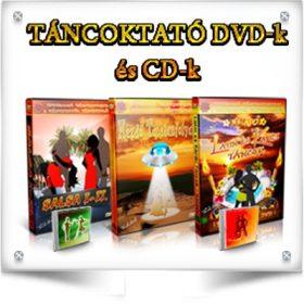TÁNCOKTATÓ DVD-k és CD-k