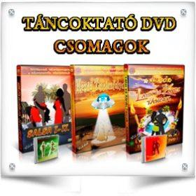 TÁNCOKTATÓ DVD CSOMAGOK
