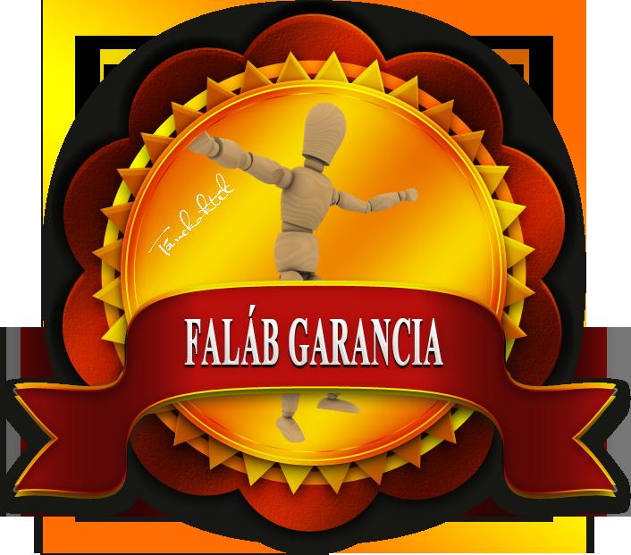 EGYEDÜLÁLLÓ FALÁB GARANCIA