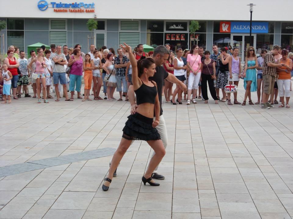 Tatabánya Salsa rendezvény - Fellépés