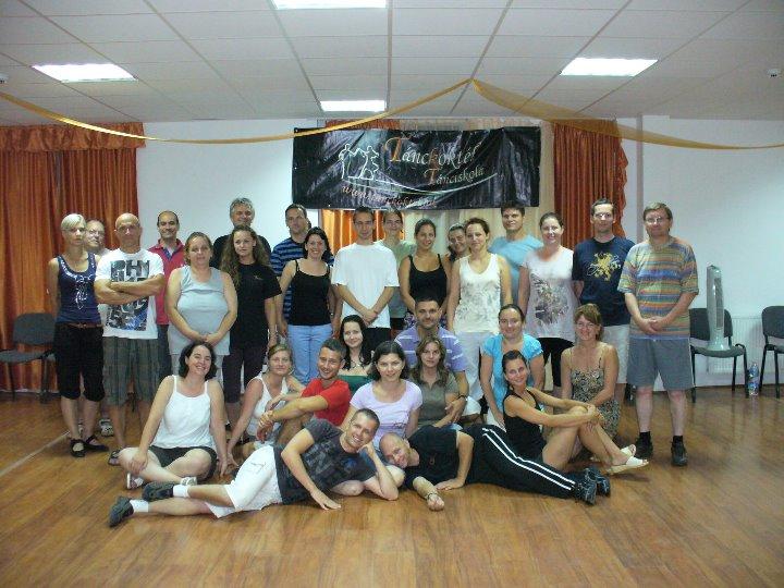 Nyári tánctábor 2011 - Csoportkép