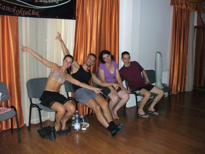 Nyári tánctábor - buli