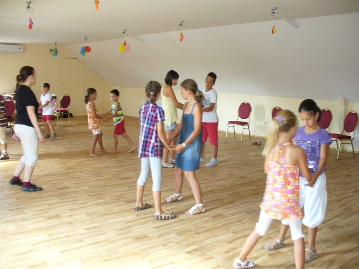 Gyerek tánctábor 2011