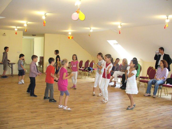 Táncoktatás gyerekcsoport