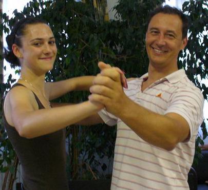 Tánciskola magán táncóra - tánctanár