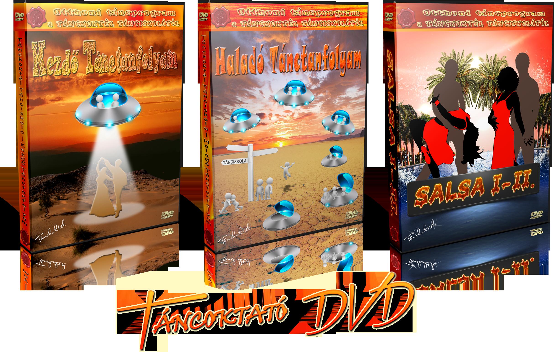 TÁNCOKTATÓ DVD