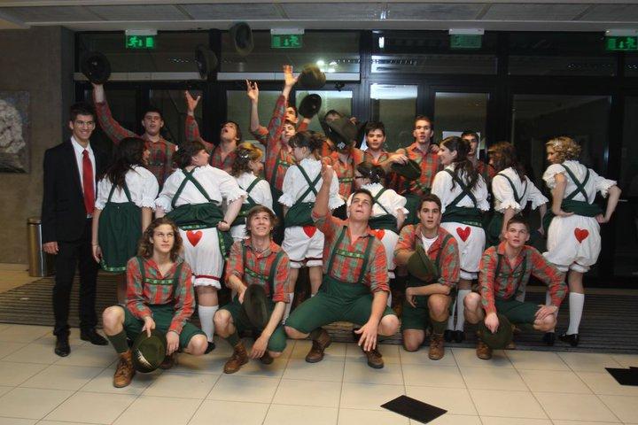 Szalagavató tánc Budapest 2010