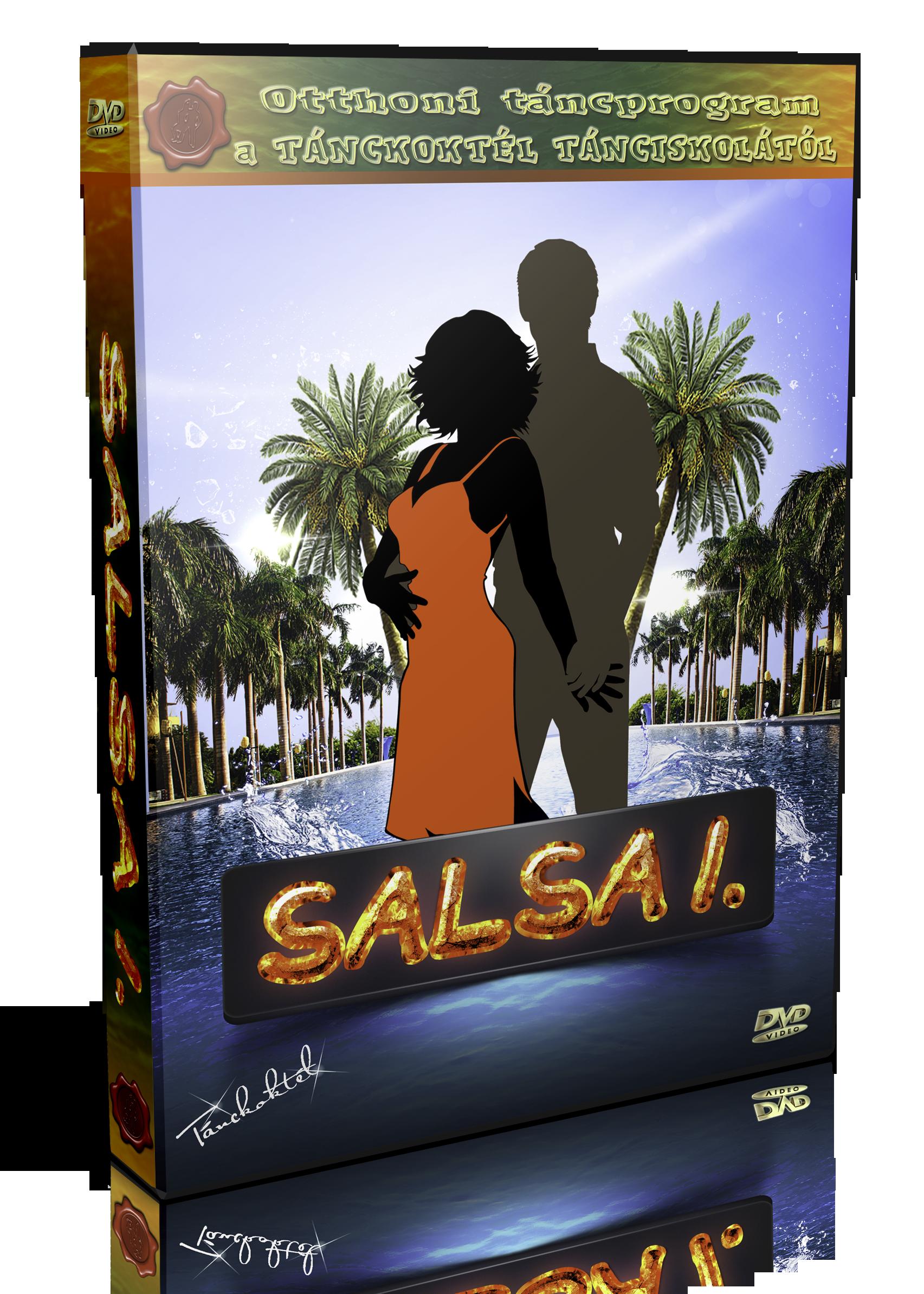 SALSA TÁNCOKTATÓ DVD